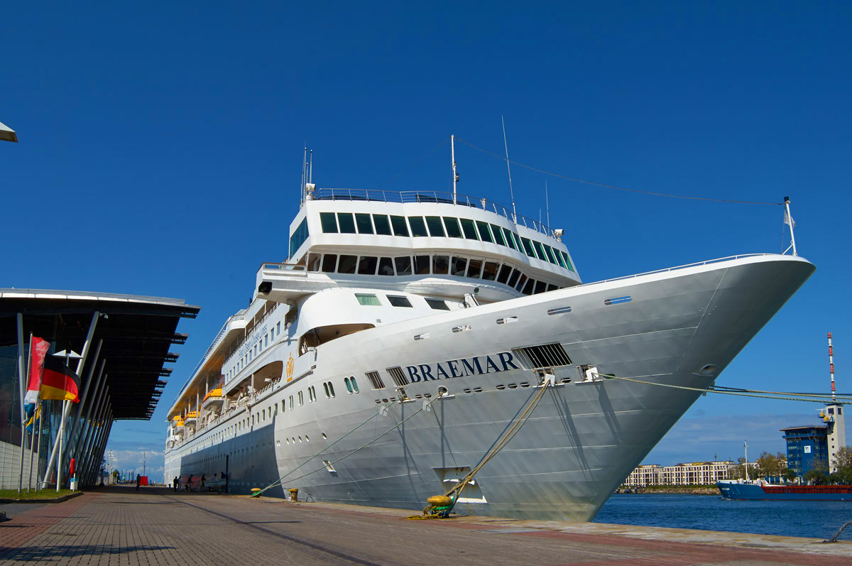 Braemar on the Baltic states cruise