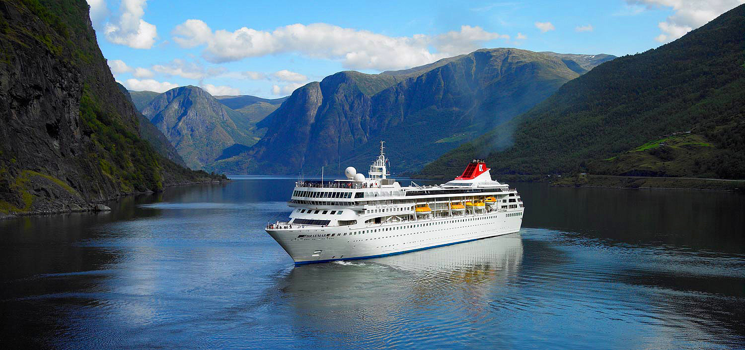 Cruise liner Braemar Norway